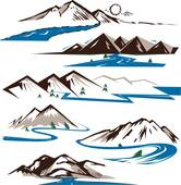Mountain Stream Cliparts Free Download Clip Art.