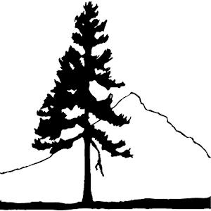 Mountain With Trees Clip Art.