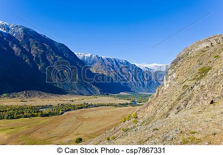 Mountain valley Illustrations and Clip Art. 3,327 Mountain valley.