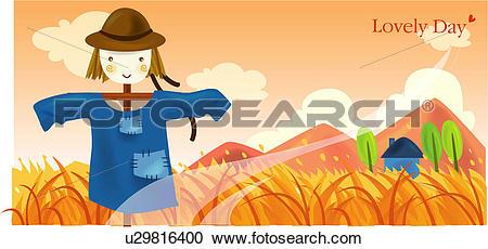 Stock Illustrations of mountain, autumn, field, outdoors, seasons.
