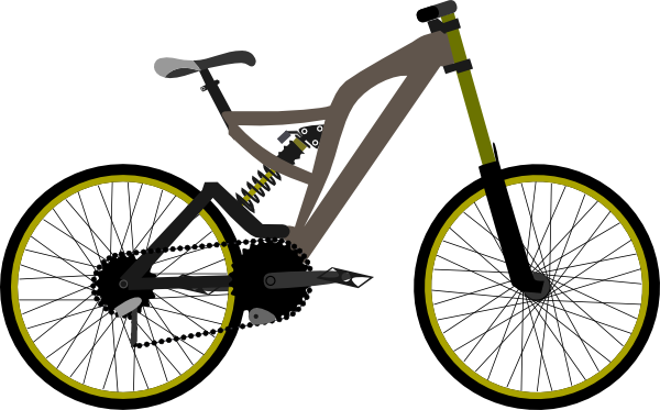 Mountain Bike Clipart.