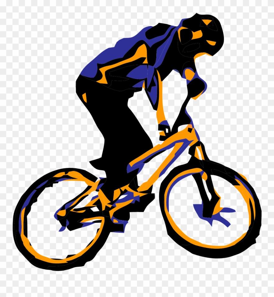 Mountain Bike Clipart.
