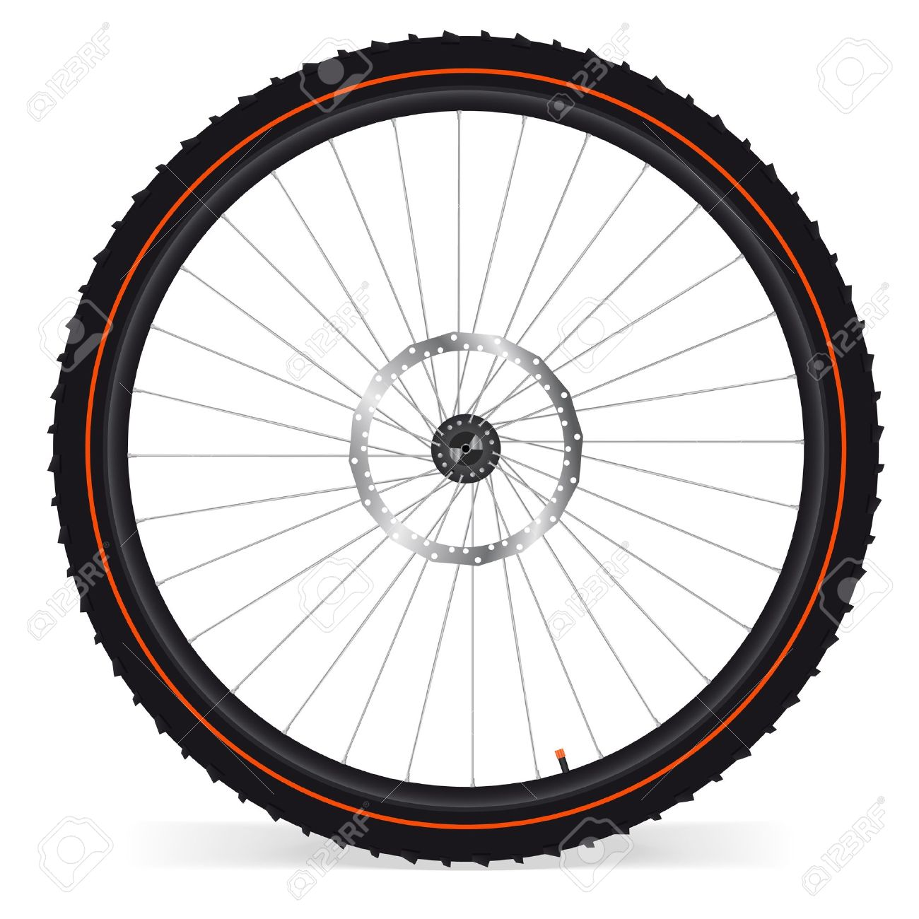 Bike Wheel Royalty Free Cliparts, Vectors, And Stock Illustration.