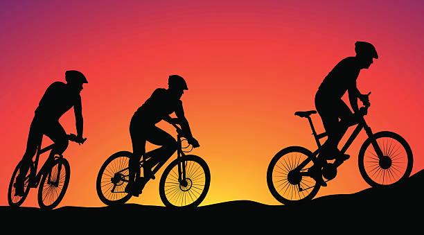 Best Mountain Bike Illustrations, Royalty.