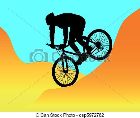 Mountain bike Illustrations and Clip Art. 6,606 Mountain bike.