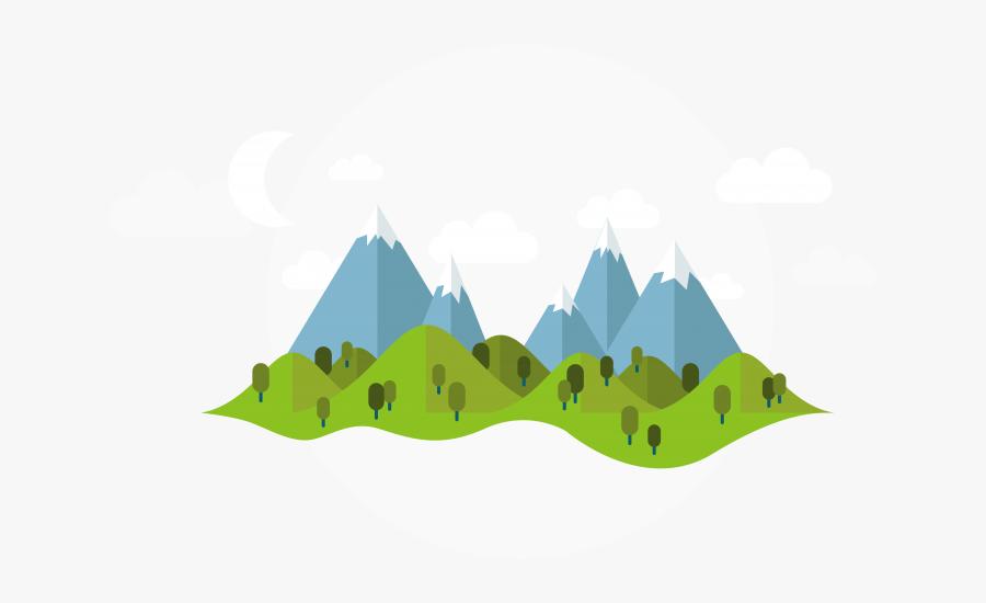 Transparent Mountain Cartoon Png.