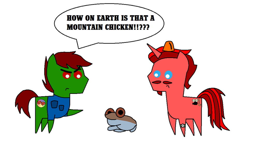 Mountain Chicken by equestriaguy637 on DeviantArt.