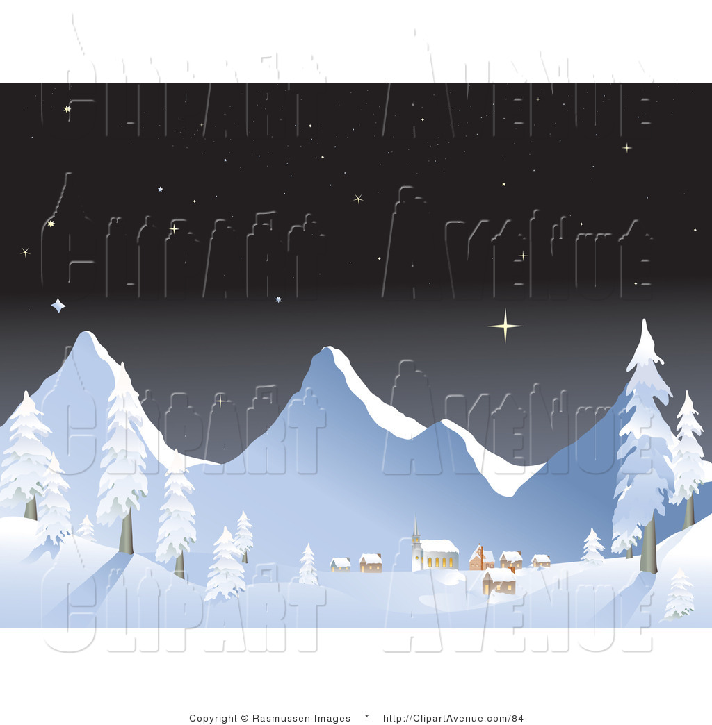 Snowy mountains Illustrations and Clipart 4096 Snowy