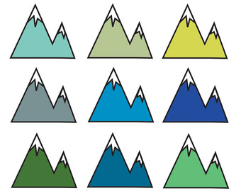 Mountain Clip Art Free Download.