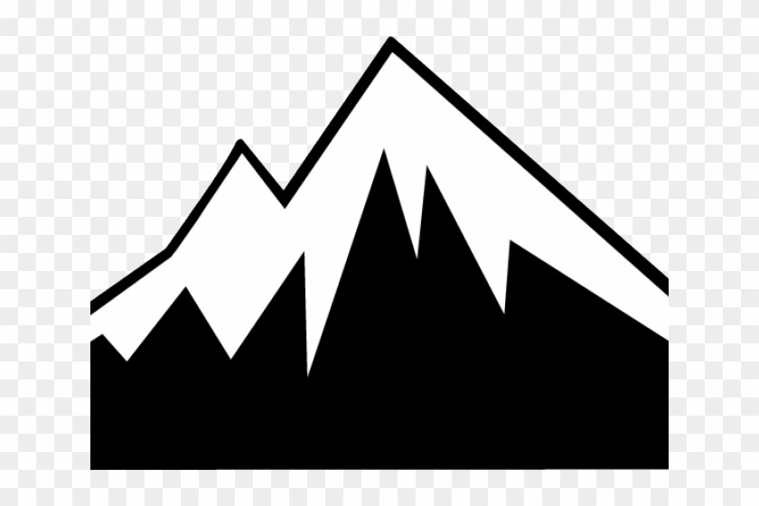 Mountains Clipart Silhouette.