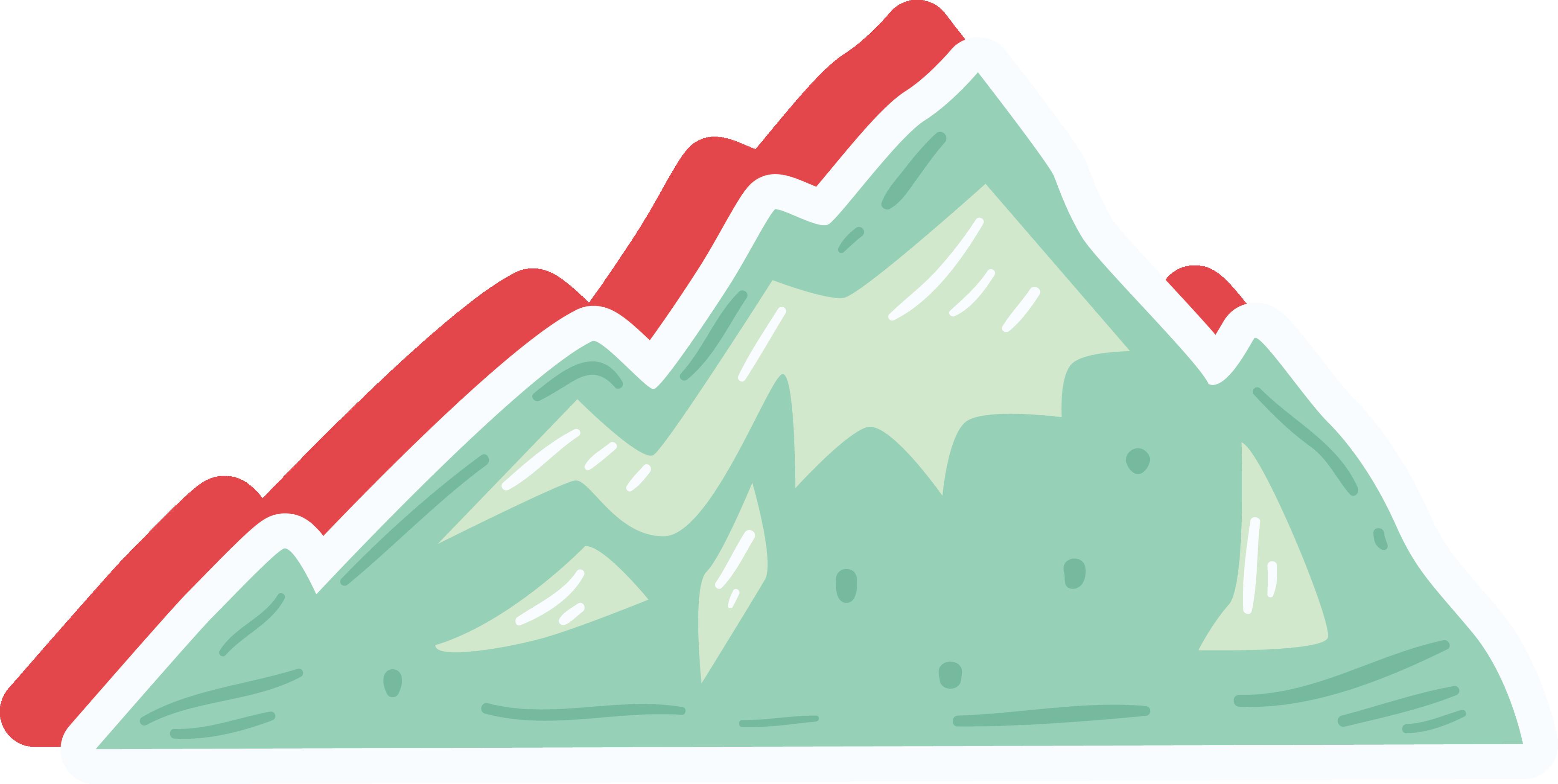 Cartoon Mountain Clip art.