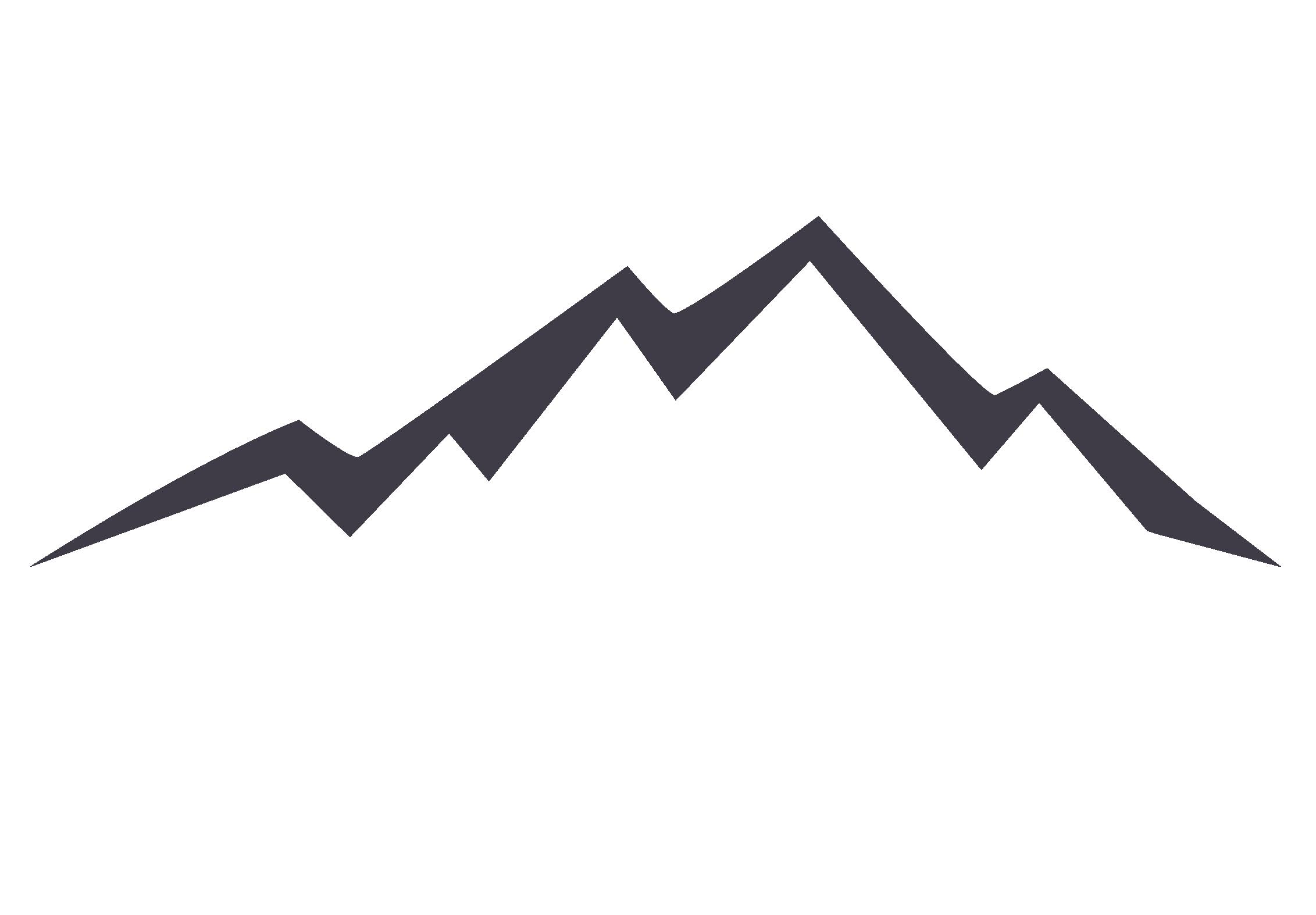 Euclidean vector Mountain Icon.