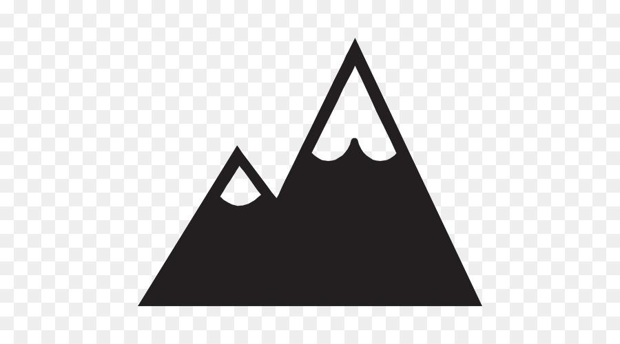 Logo Mountain Silhouette Clip art.