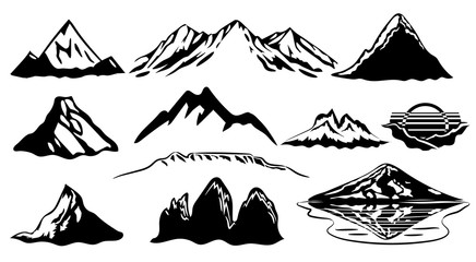 Mountains Clipart stock photos and royalty.