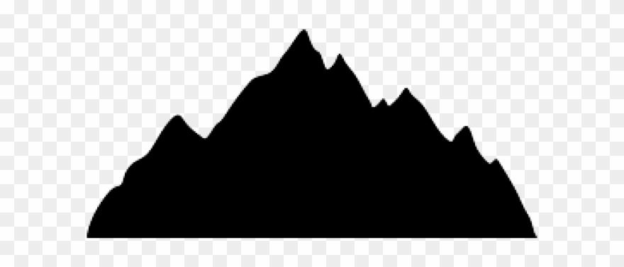 Range Clipart Mountain Profile.
