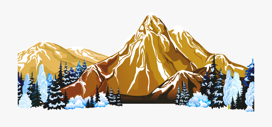 Transparent Background Mountain Png , Transparent Cartoon.