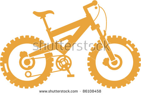 Mountain Bike Tire Stock Photos, Royalty.