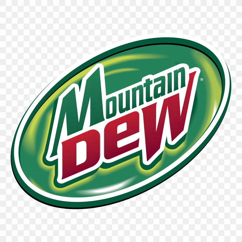 Logo Mountain Dew Brand Fizzy Drinks Clip Art, PNG.