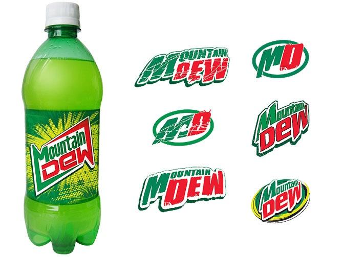 Mountain dew original Logos.