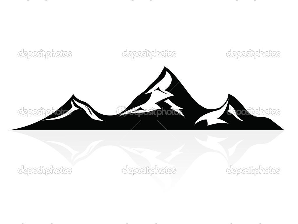 векторная графика гор.