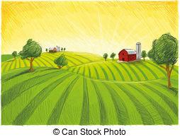 Farm Clip Art Vector Graphics. 95,777 Farm EPS clipart vector and.