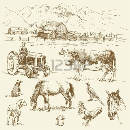 3,489 Mountain Farm Cliparts, Stock Vector And Royalty Free.