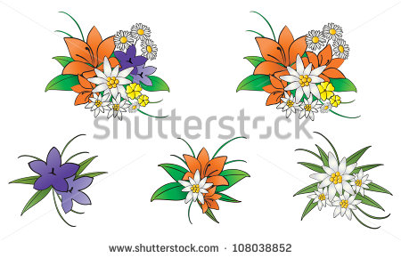 Mountain Flowers Stock Vectors, Images & Vector Art.