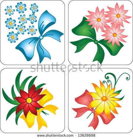 Mountain Flowers Stock Vector 108038852.