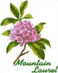 Free Mountain Laurel Clipart.