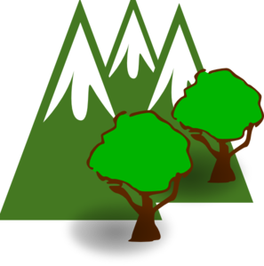 Mountain Forest Clip Art at Clker.com.