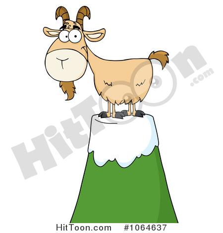 Mountain Goat Clipart #1.