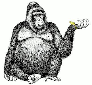 Free Mountain Gorilla Cartoon, Download Free Clip Art, Free.