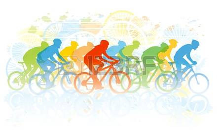 3,441 Cycling Mountain Cliparts, Stock Vector And Royalty Free.