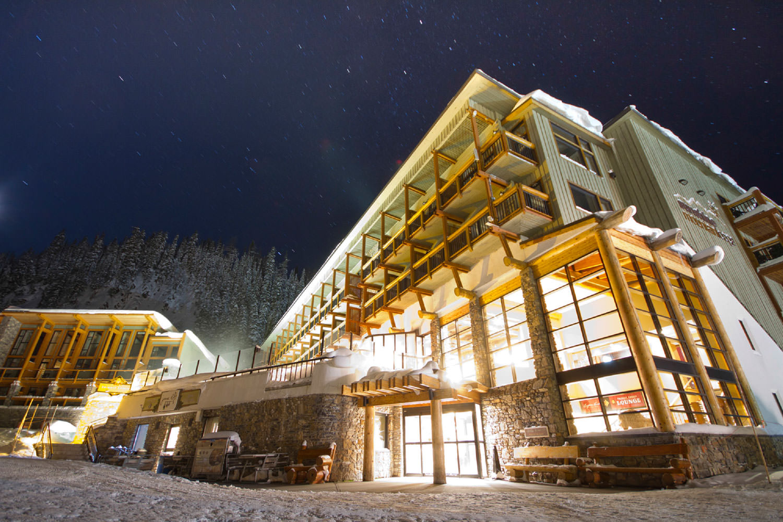 Sunshine Mountain Lodge.