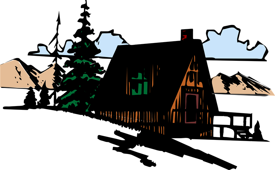 Free vector graphic: Building, House, Home, Mountain.