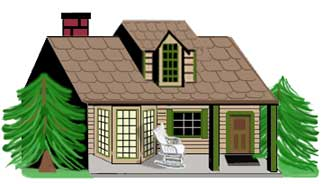 Mountain clipart for home.
