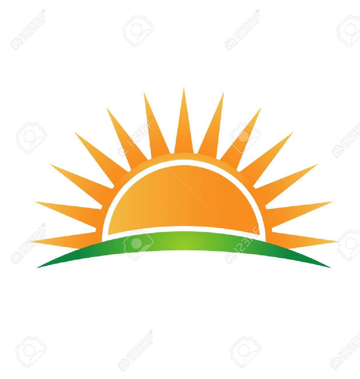 Sun Horizon Clipart.