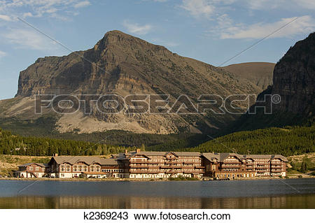 Stock Photo of Mountain hotel k2369243.
