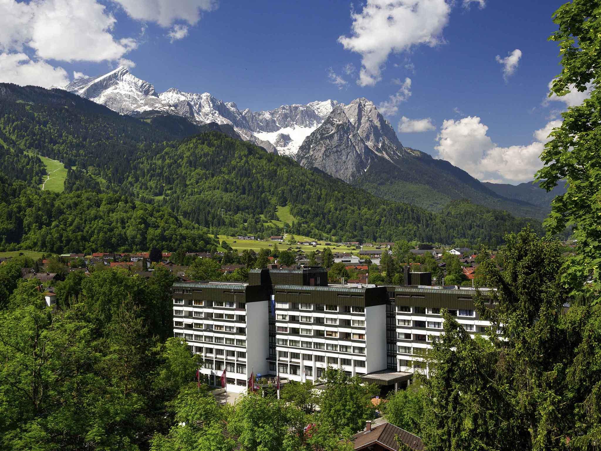 Mercure Hotel Garmisch.