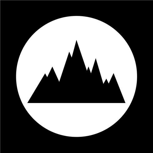 mountains icon.
