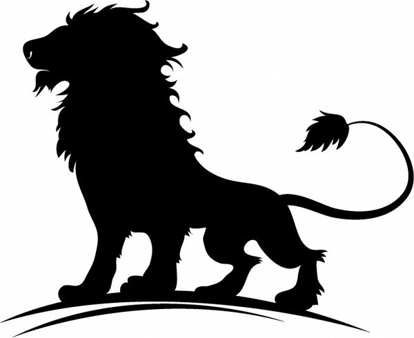 Lion silhouette free vector download (5,702 Free vector) for.