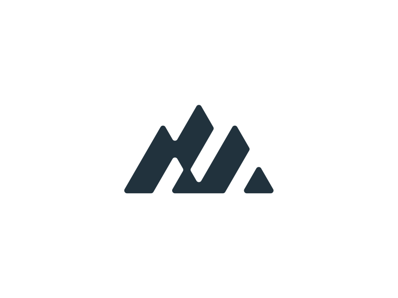 Mountain Logo Design by alle on Dribbble.