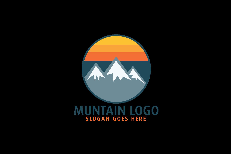 Mountain logo design..