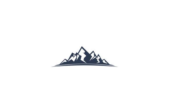 Mountain logo vector.