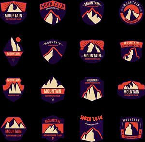 Mountain Logo Vector (.EPS) Free Download.