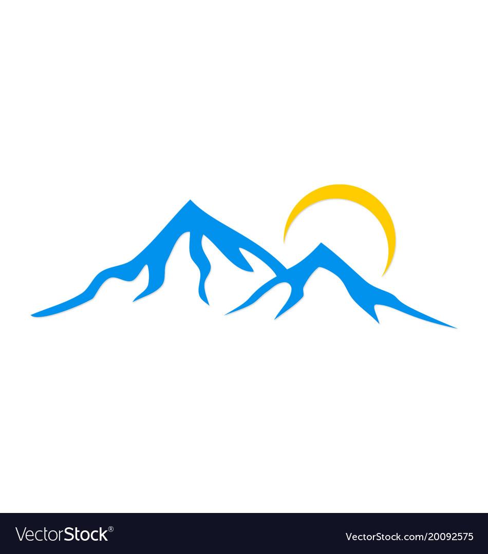 Mountain logo.