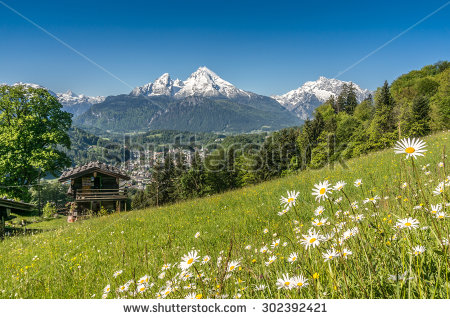 Austrian Alps Stock Photos, Royalty.