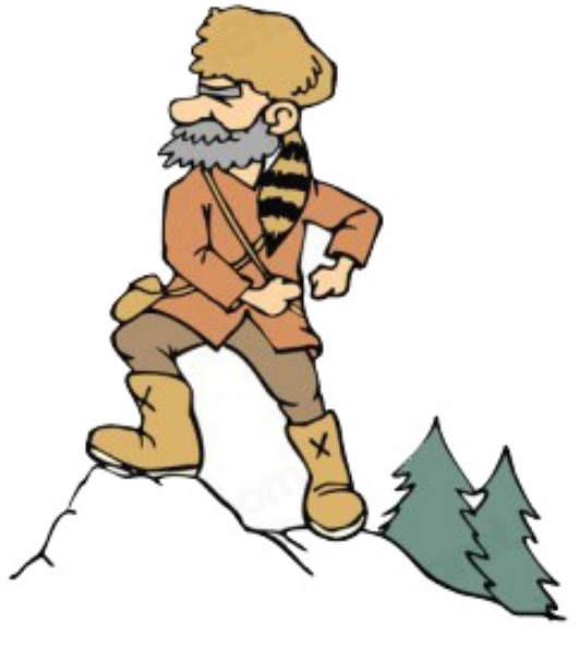 Showing post & media for Cartoon mountain man clip art.