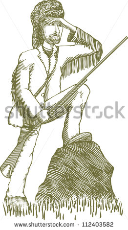 Man mountain man clipart.