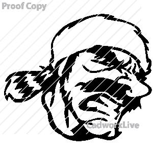 Mountain Man Clipart.